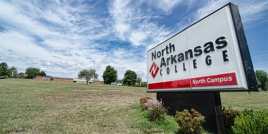 north campus sign