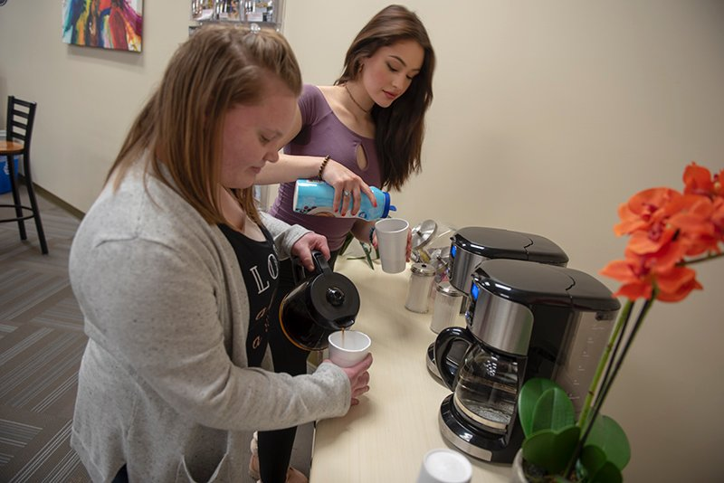 LRC coffee station