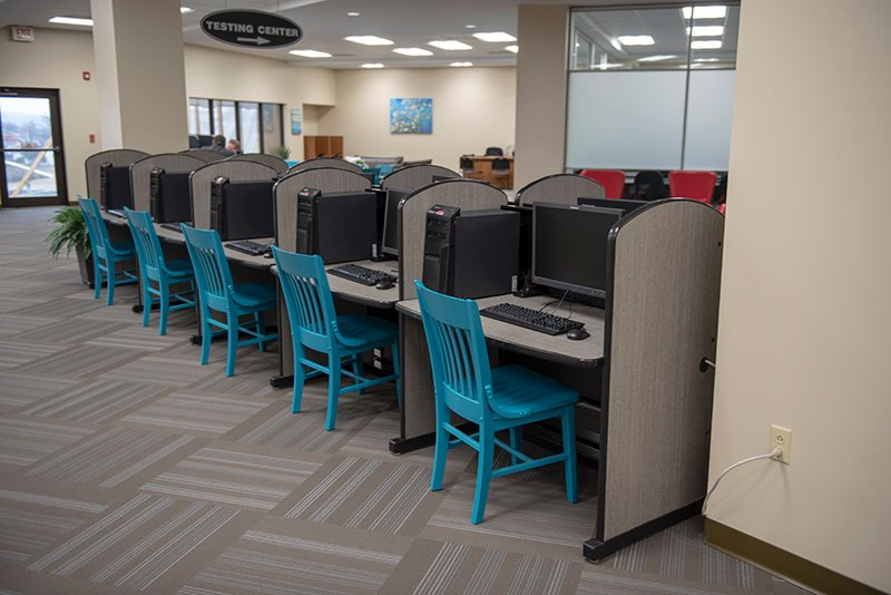 LRC computer work area